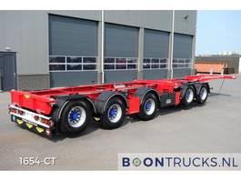 container chassis semi trailer Broshuis 2CONNECT-5AKCC   NIEUW/ONGEREGISTREERD * 4 x LIFTAS * 3 x STUURAS 2020