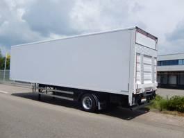 closed box semi trailer Burg BPDO 10-10 LS 1 As Oplegger Gesloten, OB-84-KS 1990