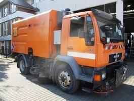 road sweeper MAN 15.163 Kroll KM 2303 BY Tellerbesen re.+li 1999