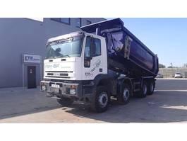 tipper truck > 7.5 t Iveco Eurotrakker 320 E 35 (FULL STEEL / BIG AXLE / MANUAL GEARBOX) 1999