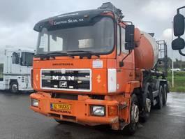 concrete mixer truck MAN 6 cylinder engine FULL STEEL SUSPENSION +MANAUL GEARBOX+ 9M3 +PUMP !!!!!!!!!!!!!!!!!!!!!!!!! 1991