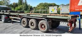 Wechselbrücke Anhänger Auflieger Köhler 20ft/40ft Chassis Blattfederung