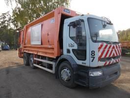 Müllfahrzeug Renault vuilniswagen 320 DCI 6x2 2006