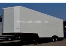 car transporter semi trailer Lohr SRTA geschlossener Autotransporter 6 Autos 2002