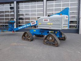 telescopic boom lift wheeled Genie S 40 Trax 2015