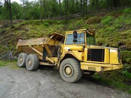 wheel dump truck Volvo A 25 C 6x6 hvite skilter 2000
