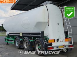 feed semi trailer Feldbinder EUT 43.3 43m3 Liftachse Lenkachse 2000