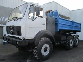 tipper truck > 7.5 t Mercedes Benz FAP 2026 , V8 , 6x6 , 3 way tipper , ZF manual 1981