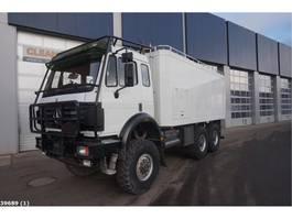 closed box truck > 7.5 t Mercedes Benz 2638 AK V8 6x6 Assistentie voertuig 1995