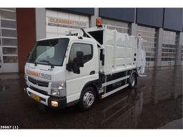 garbage truck Fuso Canter 7C15 7m3 Geesink 2016
