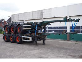 container chassis semi trailer Nooteboom Container chassis 45ft. / Multi / Extendable / 37.450 KG Loading Capacity 1999