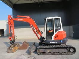 mini digger crawler Kubota KX 161-3 A 2006