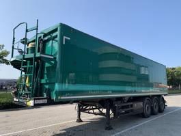 tipper semi trailer Stas S300CX - 58m3 Agri 2016