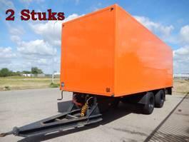 closed box trailer Floor FLWA18 2 As Wipkar Gesloten, WS-88-NP & WR-97-HX, 2 Stuks