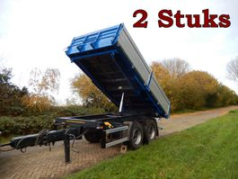 tipper trailer Kögel ZK18 2 x 3 Zijdige Kipper WD-ZR-22 & WV-33-NF, 2 Stuks