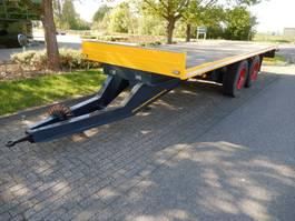 closed box trailer Burg BPDA16 2 As Wipkar T.b.v. Langzaam Verkeer Open , 66-WL-07