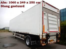 closed box semi trailer Groenewegen 1 As Oplegger Gesloten, OD-94-YL 1996