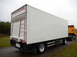 closed box trailer Floor FLA 10 101 2 As Vrachtwagen Aanhangwagen Gesloten, WP-90-LG 1996