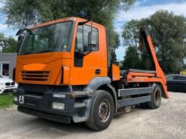 container truck Iveco Magrius Blatt/Luft Atumatik reifen 80% 2004