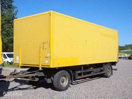 closed box car trailer andere Saxas AKD 71-11   LADEBORDWAND 2008