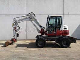 wheeled excavator Takeuchi TB295W 2014