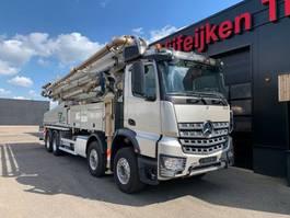 concrete pump truck Mercedes Benz AROCS 4151 8X4 - CONCRETE PUMP SERMAC 5RZ 51 METER - NL KENTEKEN 2017