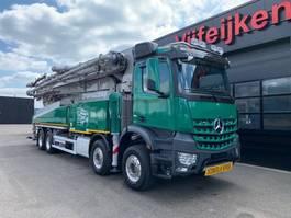 concrete pump truck Mercedes Benz AROCS 4151 8X4 - 56 METER SERMAC CONCRETE PUMP BELGISCH-KENTEKEN 2015