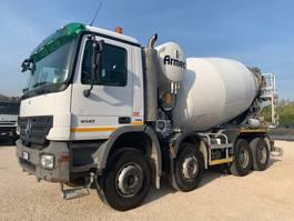 concrete mixer truck Mercedes Benz Actros 4141B 8x4 Euro4 2008