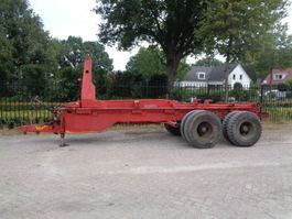 container chassis semi trailer Nooteboom 2000kg