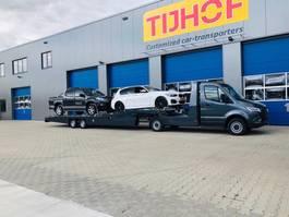 PKW-Transporter Auflieger Tijhof Mercedes Sprinter trekker + TO5000 oplegger 2020