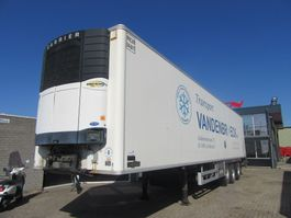 refrigerated semi trailer Chereau CARRIER VECTOR 1800 FRIGO TRAILER 2002