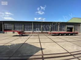 semi lowloader semi trailer Nooteboom OSDS-58-04V | 4x SAF | 680cm Extendable 2007
