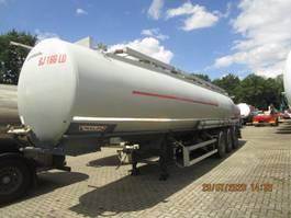 tank semi trailer semi trailer Trailor 40100 liters 9 compartimenten 1999