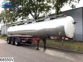 Tankauflieger Auflieger Maisonneuve Food 29907 liter isolated Food  tank,  4 Compartments, Steel suspension,... 1985