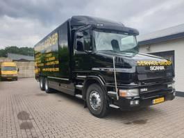 closed box truck > 7.5 t Scania T114G 340 1999
