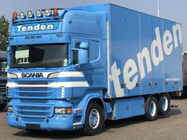 closed box truck > 7.5 t Scania R620 V8 FULL SIDE OPENING RETARDER EURO 5 2012