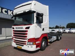 swap body truck Scania R 410 LL Chassiscabine/BDF 6x2 Euro 6 2014