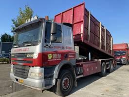 camión contenedor Ginaf X 3232 S 6X4 EURO 5 MET TRANSLIFT + JONSERED 100Z 2006