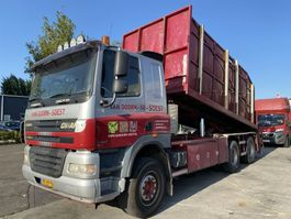 container truck Ginaf X 3232 S 6X4 EURO 5 MET TRANSLIFT + JONSERED 100Z 2006