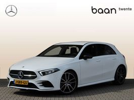 hatchback car Mercedes Benz A-klasse A 220 Advantage AMG Nightpakket Automaat 2020