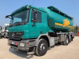 tank truck Mercedes Benz Actros 2544 2008