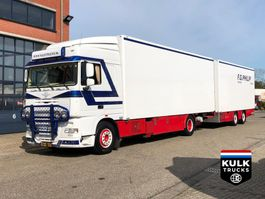 refrigerated truck DAF XF 105 460 / MANUAL / SPECIAL INTERIOR TRS ICELAND / CONCOURSTAAT 2011