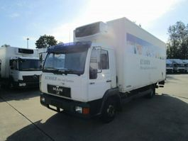 refrigerated closed box lcv MAN 8.163 Kühlkoffer 6 m LBW 1 T* CARRIER S 500 2000