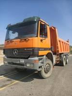tipper truck > 7.5 t Mercedes Benz Actros 3331/6x6/Meiler Kipper
