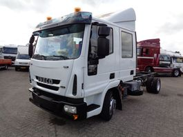 chassis cab truck Iveco EuroCargo 80E17 + Manual 2006