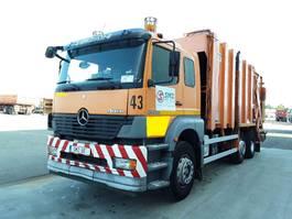 camião de lixo Mercedes Benz Atego 2528 Vdk pusher 2000 2003