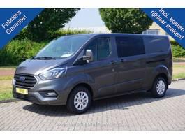 closed lcv Ford Transit Custom 300L 170PK DC Limited Aut €478 / Maand Leder Navi Camera ... 2020