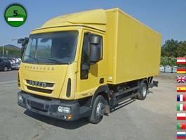 closed box truck > 7.5 t Iveco EuroCargo ML 75 E 16 P LBW 2010