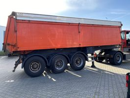 tipper semi trailer ATM ATM isolated tipper with hydraulic aluminium roof 2004