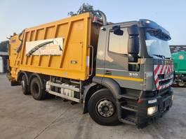camião de lixo Iveco 310 STRALIS 6X2 EURO5 + FAUN WasteCollector 2009